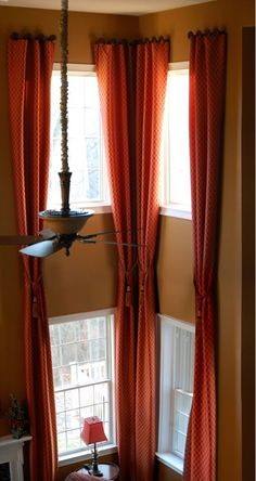 How to Decorate with Two Story Curtains - My Decorating Tips