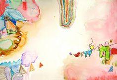 shine brite zamorano: kindergarten art lesson; Kindergaten Kandinsky