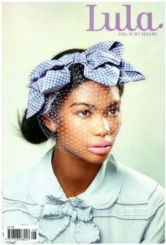 Chanel Iman on the cover of Lula Magazine