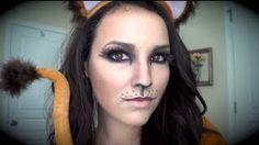 lion makeup - YouTube