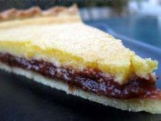 Recette Tarte à la frangipane sur un lit de compotée prunes/figues, par Therbia - Ptitchef
