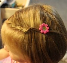 Hairstyles for Girls.. The Wright Hair: Toddler Twist w/ Rockin Bobbie Pins
