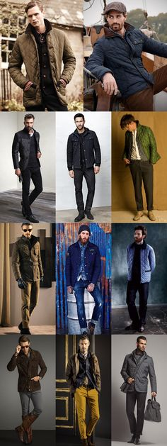 Men's 2014 Autumn/Winter Fashion Trend: Quilted Jackets in The Original Ways of Wearing Lookbook Inspiration