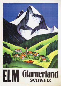 Elm. Glarnerland. Schweiz.