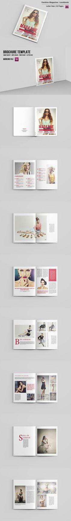 #magazine #design from Template Shop | DOWNLOAD: https://creativemarket.com/sismic/679152-Fashion-Photography-Magazine-V494?u=zsoltczigler