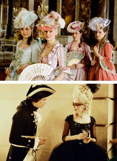 and of course, marie antoinette shows up sharing 1 percent milk from her porcelain drinking bowl ...