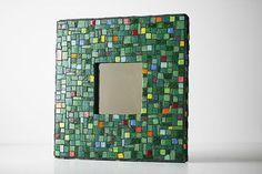 Mosaic Colorblock Mirror von MosaicMadness auf Etsy