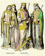 The Middle Ages are commonly dated from the 5th century fall of the western Roman Empire until the end of the 15th century. During the history of mankind, fashion was always a subject of controversy, and Medieval Fashion followed the rule.