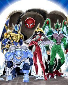 Yugioh GX - Burstinatrix, Avian, Sparkman, Clayman et Bulleman Yu Gi Oh, All Anime, Anime Manga, Geeks, Otaku, Yugioh Monsters, O Pokemon, Fanarts Anime, Anime Artwork