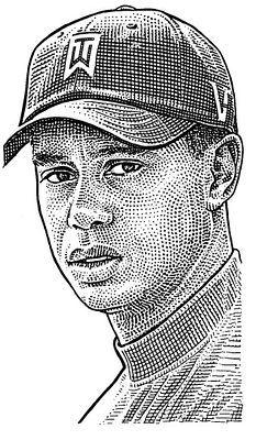 Tiger Woods WSJ headcut.