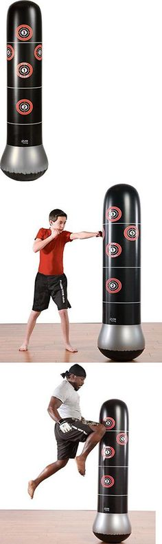 Punching Bags 30101 Training Bag Inflatable Standing Mma Target Strike Kickboxing 5ft