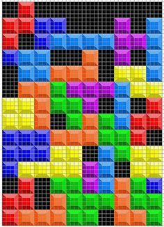 a Tetris quilt! how cool is that!
