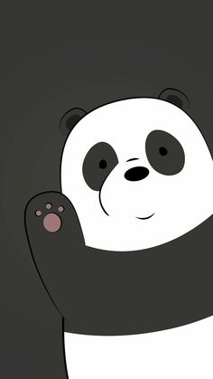 Pin Violet Nikole On Wallpapers Bear Wallpaper Panda pertaining to We Bare Bears Wallpaper Violet - All Cartoon Wallpapers Cute Panda Wallpaper, Cartoon Wallpaper Iphone, Bear Wallpaper, Cute Disney Wallpaper, Cute Wallpaper Backgrounds, Animal Wallpaper, Love Wallpaper, Galaxy Wallpaper, Wallpaper Pictures