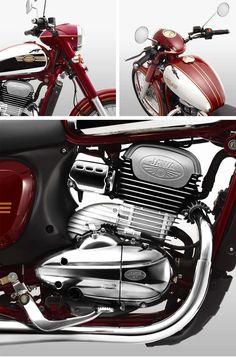 Motor 'Jawa' Diproduksi Lagi : Line-up Model 2018 Enfield Motorcycle, Motorcycle Engine, Yamaha Fz, Ducati, Jawa 350, Old Motorcycles, Moto Guzzi, Classic Bikes, Royal Enfield
