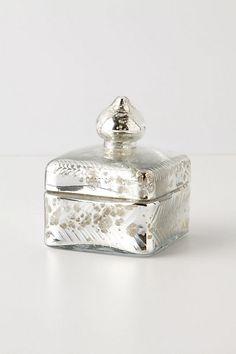 Mercury Trinket Box, Square #anthropologie