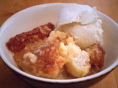 Apple milk tart (My South African friend's recipe) South African Desserts, South African Dishes, South African Recipes, Butterscotch Fudge, My Favorite Food, Favorite Recipes, Friend Recipe, Tasty Kitchen, No Bake Desserts