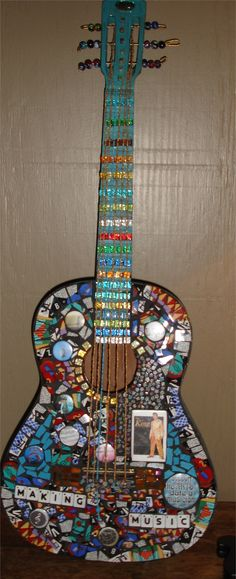 mosaic guitar I created
