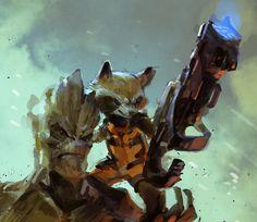 Rocket and Groot - OVOPACK (Ryota Murayama)