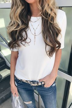 68ad56e91965f 5 Spring Accessory Trends To Try. spring accessory trends 2019 - layered  necklace on pinteresting plans fashion blog