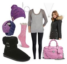 """Abby's Ready for Winter"" by bearpawstyle on Polyvore featuring BKE, Coach and Nordstrom"