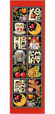 Mary Engelbreit Love Home Bookmarks