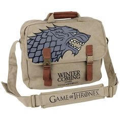 """Game Of Thrones Schoudertas """"Stark"""" • Large"""