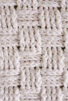 Aninhamento: Weave de cesta Crochet Bebê Cobertor