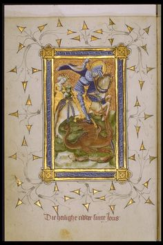 Réseau des Bibliothèques de l'Université de Liège' Livre d'heures exécuté dans les Pays-Bas du nord (ms. Wittert 35, f° 14v)  Pays-Bas, début XVe s.