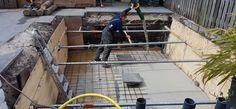 Deel 1: Volg de bouw van de droomvijver van Lucien! - http://koiquestion.com/nl/2017/05/07/deel-1-volg-de-bouw-van-de-droomvijver-van-lucien/ #Beton, #DeGraauw, #Lucien, #NieuweVijver, #Sandwichpanelen, #Vijverbouw
