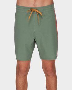 billabong, D BAH LT BOARDSHORTS, SAGE (s12) Boardshorts, Men's Collection, Body Measurements, Billabong, Sage, Model, Clothes, Outfits, Clothing