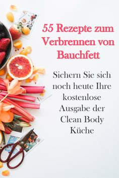 55 leckere Rezepte zum Entgiften - Detox , 55 leckere Rezepte zum Entgiften Get your free copy of the Clean Body Kitchen NOW! With many recipes, tricks and tips for detoxification. Get Healthy, Healthy Eating, Healthy Recipes, Body Detox Cleanse, Eggnog Recipe, Yummy Food, Tasty, Sangria Recipes, How To Eat Paleo