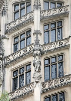 The Biltmore mansion, windows of the grand staircase - Tom Harper Photography, Inc Houses In America, Biltmore Estate, Grand Homes, Grand Staircase, Architectural Elements, Photo Look, Historic Homes, My Happy Place, Architecture Details