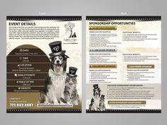 Nonprofit Pet Rescue needs Eye-Catching Sponsorship Flyer