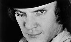 Malcolm McDowell in A Clockwork Orange - Corbis - XX Century in Black and White Photos BBC