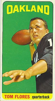 139 - Tom Flores SP - Oakland Raiders
