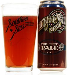Pine Belt Pale Ale - Year Round Craft Beer - Southern Star Brewing Company - Conroe, TX