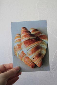 """Carte postale """"Les croissants"""" : Cartes par le-petit-bazar-des-trinomettes-en-delire"""