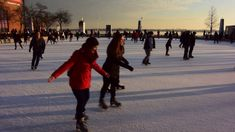Ice Skating at Harbourfront Rink Toronto #2