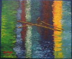 los dibujos de jose angel barbado - el piragüista - by jose angel  barbado - http://losdibujosdejoseangel.blogspot.com.es