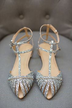 Stylish And Comfortable Wedding Shoes ❤ See more: http://www.weddingforward.com/comfortable-wedding-shoes/ #weddings #weddingshoes