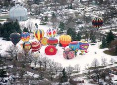 Holiday Air Balloon Festival, Battle Creek, MI