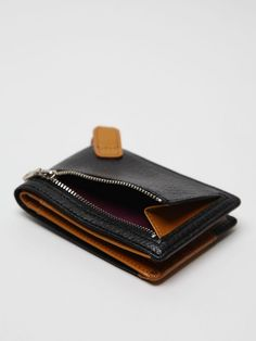 Master-piece Sensible Fold Out Wallet in black at oki-ni