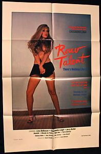 RAW TALENT 1985 Original Movie Poster starring Ron Jeremy