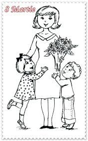 8 Martie, Art N Craft, Past, Activities, Crafts, Print Coloring Pages, Past Tense, Manualidades, Handmade Crafts