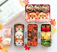 Bento Box Lunch For Adults, Cute Lunch Boxes, Japanese Bento Box, Japanese Food, Bento Recipes, Bento Ideas, Anime Bento, Sushi Lunch, Kawaii Bento