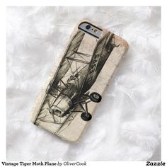 Vintage Tiger Moth Plane Barely There iPhone 6 Case