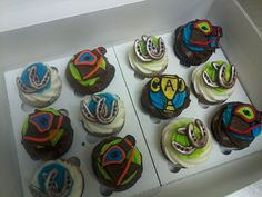 Horse Racing Cupcakes, Creative Kitchen, Ft. Smith Ar