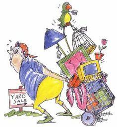 interior design, little houses, garages, clip art, garage sales, garage sale tips, garag sale, yard sale, yards