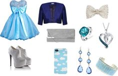 """Blue"" by camilla-fernandes ❤ liked on Polyvore"
