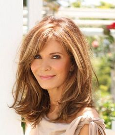 medium length hairstyles for women over 50 | Pinned by Monica Z Moreno